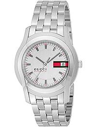 [グッチ]GUCCI 腕時計 Gクラス ホワイト文字盤 自動巻き YA055205 メンズ 【並行輸入品】