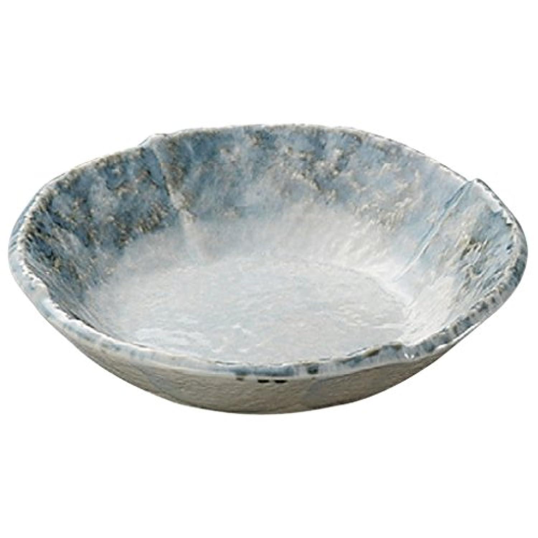 山下工芸(Yamasita craft) 淡青5.0丸鉢 刺身鉢 14.7×14.7×3.6cm 27819-328