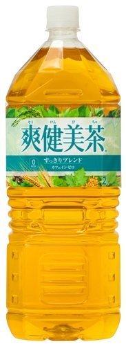 爽健美茶 2000ml ×6本