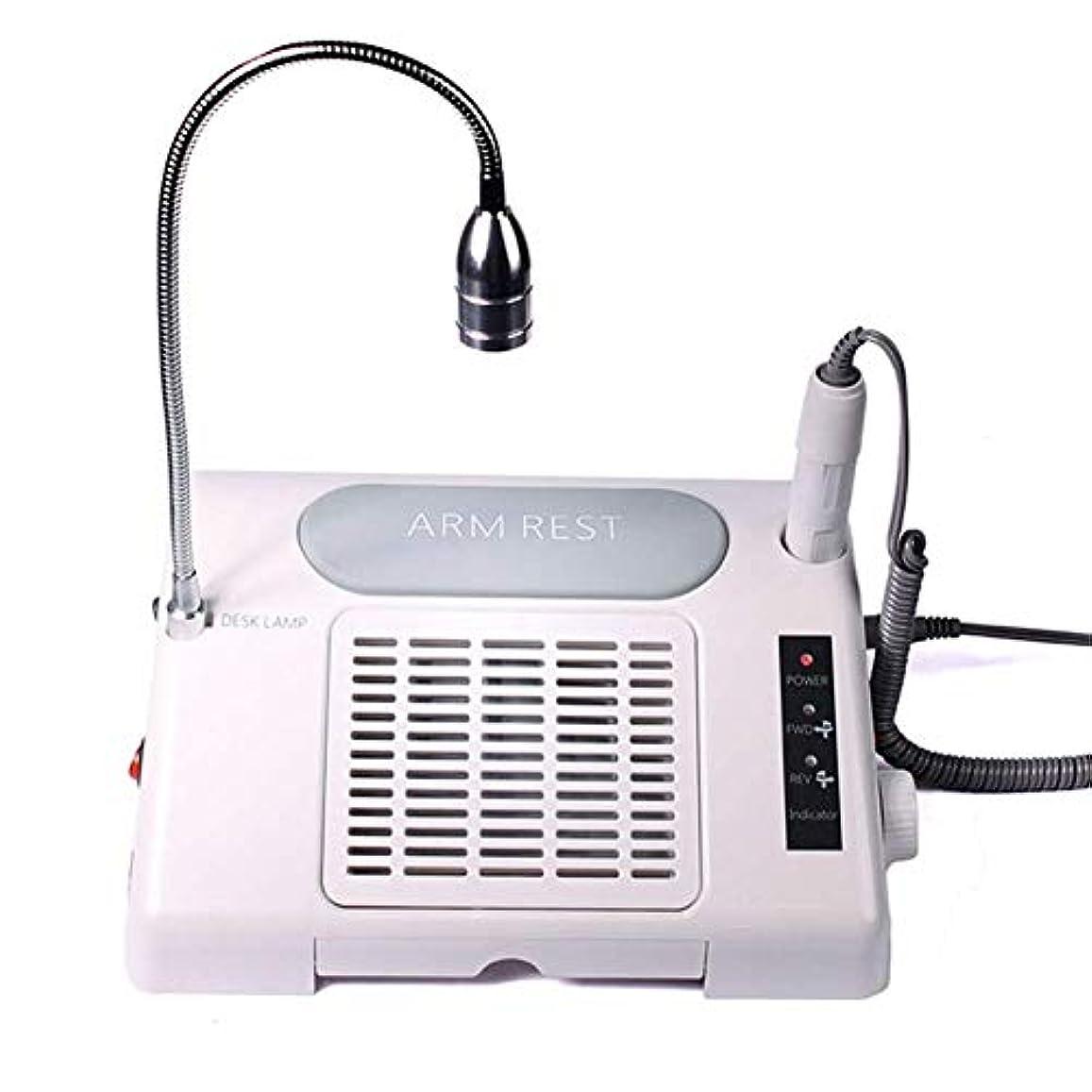 温度自己塗抹多機能ネイル集塵機マニキュアトレイドリルマシン省スペースプロフェッショナル3で1電動ポータブル集塵機用マニキュアテーブル