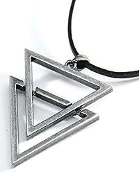 (リピード) REPIDO トライアングル チョーカー ネックレス チャーム メタル