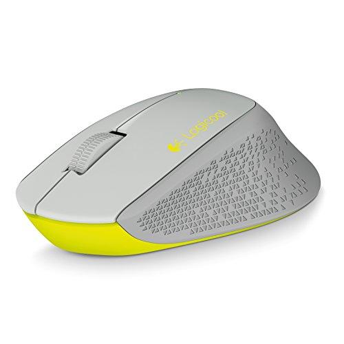 LOGICOOL ロジクール M280 2.4GHz ワイヤレスマウス 無線マウス グレー M280GY 省エネルギー設計 超コンパクト アドバンス オプティカル トラッキングで高精度