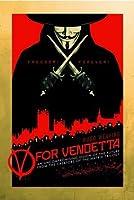V for Vendetta Poster 24 x 36in by Global Prints