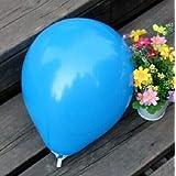 FidgetGear Wholesale 100pcs Latex Helium Thickening Round Wedding Party Birthday Balloon Blue 20 Pcs