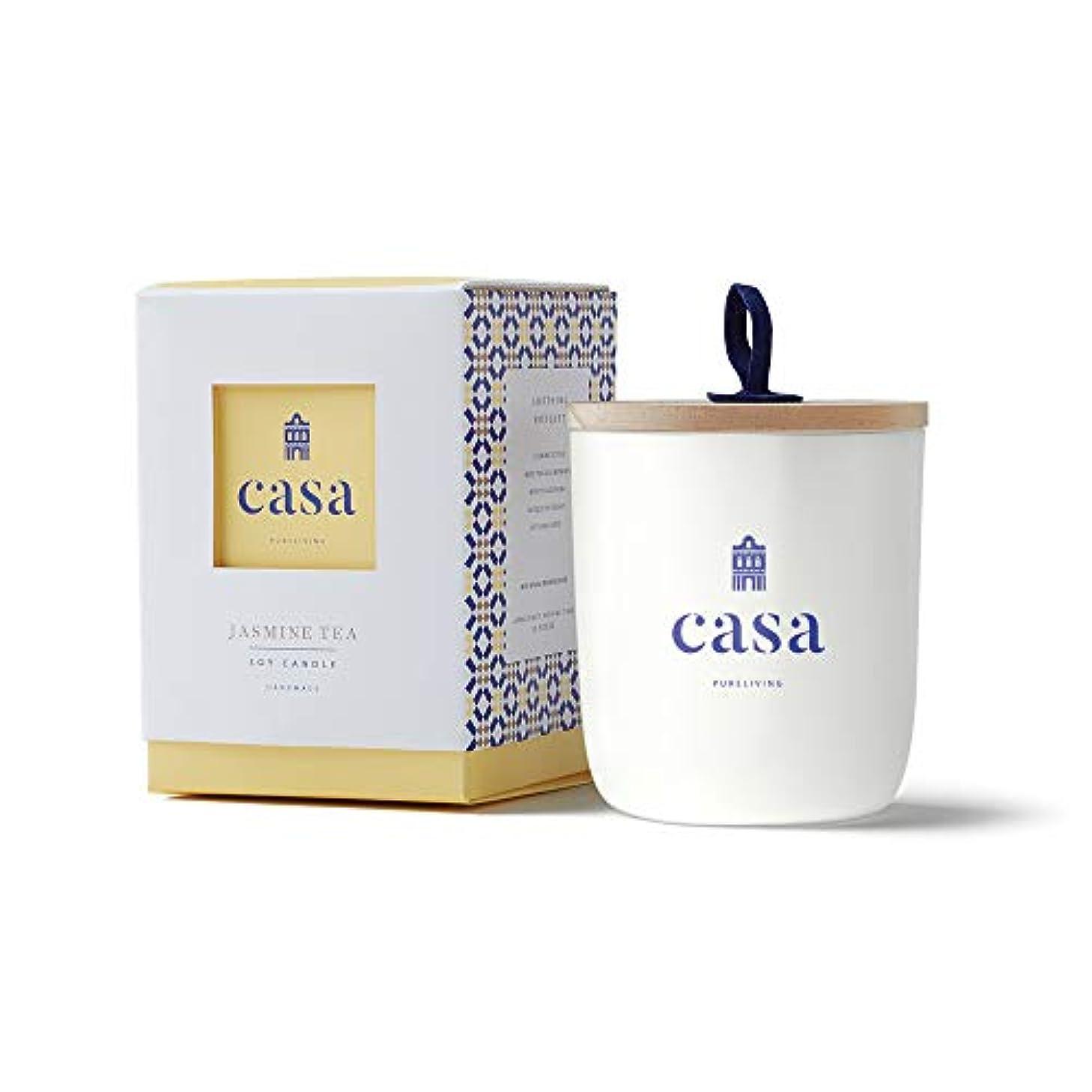 独立した太鼓腹いたずらカーサ(CASA) CASA ソイキャンドル ジャスミンティー ミニ