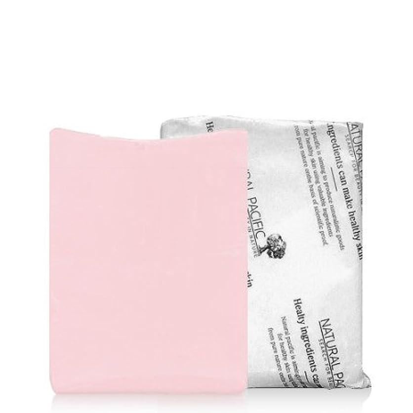 包帯美徳ご近所NATURAL PACIFIC Pink Calming Soap/ナチュラルパシフィック ピンク カーミング ソープ (1個) [並行輸入品]