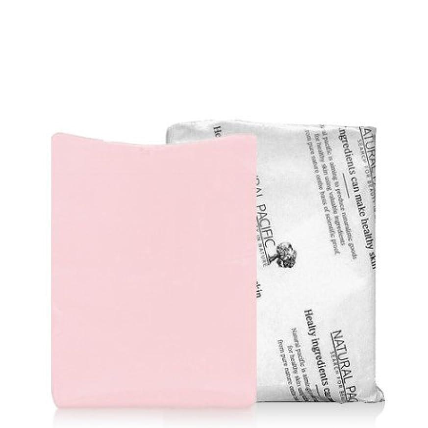 ページェントリテラシー投げるNATURAL PACIFIC Pink Calming Soap/ナチュラルパシフィック ピンク カーミング ソープ (1個) [並行輸入品]