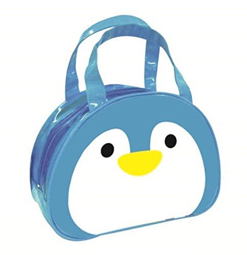 パルマートビニールボストンバッグペンギンH20.5×W29×D10.5プールビーチGDH10