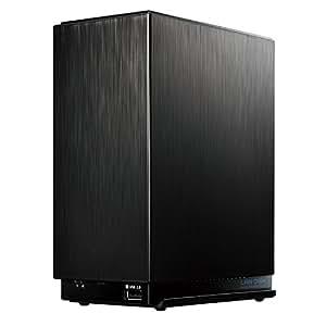 I-O DATA NASキット(HDD無し) デュアルコアCPU/ミラーリング(RAID1) /2ドライブ/スマホ /タブレット対応/3年保証 HDL2-AA0/E