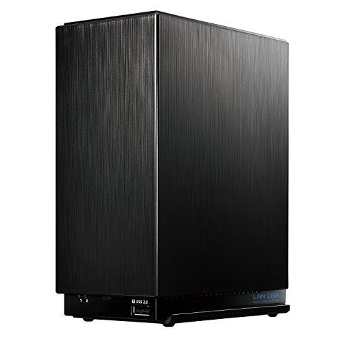 I-O DATA NAS 2TB RAID 1(ミラーリング)/デュアルコアCPU/高速モデル/2ドライブ/3年保証/日本製 HDL2-AA2
