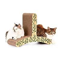 LUOWANXIU ペット用品 CP085形の猫のクライマー段ボール紙の猫の傷板粉砕の爪のおもちゃ ペット用
