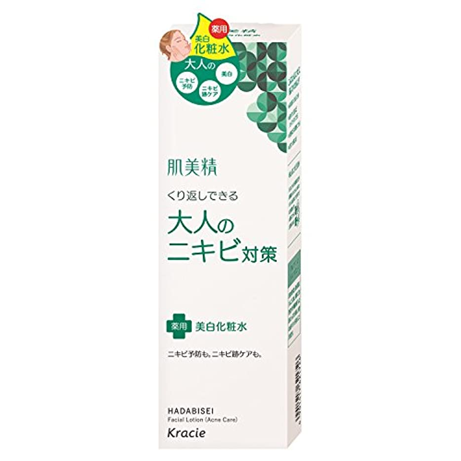 虫を数える発行するレディ肌美精 大人のニキビ対策 薬用美白化粧水 200mL (医薬部外品)
