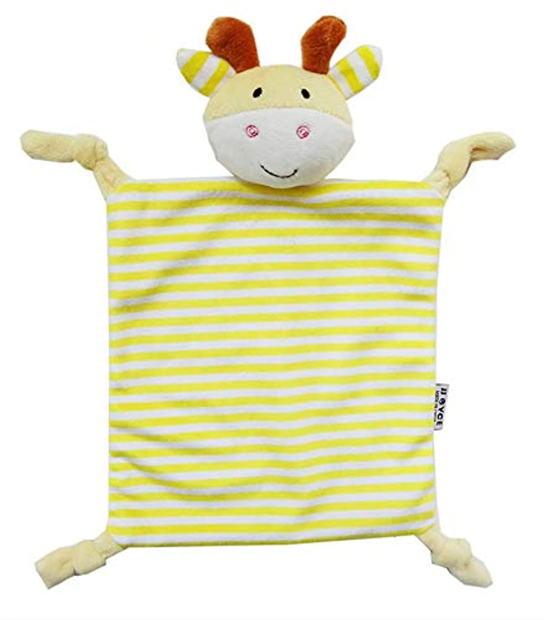 アベニューまぶしさ単語ベビー用癒しタオル ぬいぐるみタオル キッズ用抱っこタオル 抱っこ毛布 安心毛布 寝かしつけ用 赤ちゃんタオル おしゃぶり 癒し 可愛い動物 ふわふわ お出産祝い お出かけ (鹿)