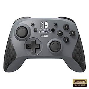 【任天堂ライセンス商品】ワイヤレスホリパッド for Nintendo Switch グレー【Nintendo Switch対応】