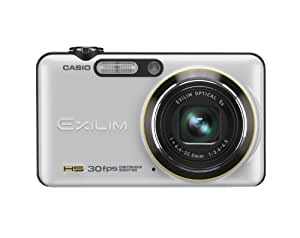 CASIO デジタルカメラ HI-SPEED EXILIM EX-FC100 ホワイト EX-FC100WE