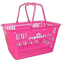 レプマート ショップオリジナル バスケット ピンク