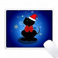 クリスマスウィンターキャット PC Mouse Pad パソコン マウスパッド