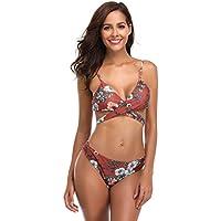 SoarDream Two Pieces Bikini Women Swimsuit Backless Swimsuit wimsuit high Waist Swimsuit