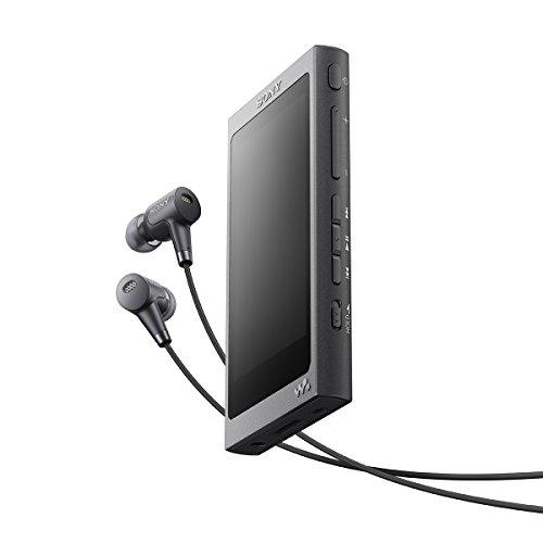 ソニー SONY ウォークマン Aシリーズ NW-A37HN : 64GB ハイレゾ対応 Bluetooth/LDAC/NFC対応 DSEE HX搭載 microSD対応 ノイズキャンセリング機能搭載 ハイレゾ対応イヤホン付属 チャコールブラック NW-A37HN B