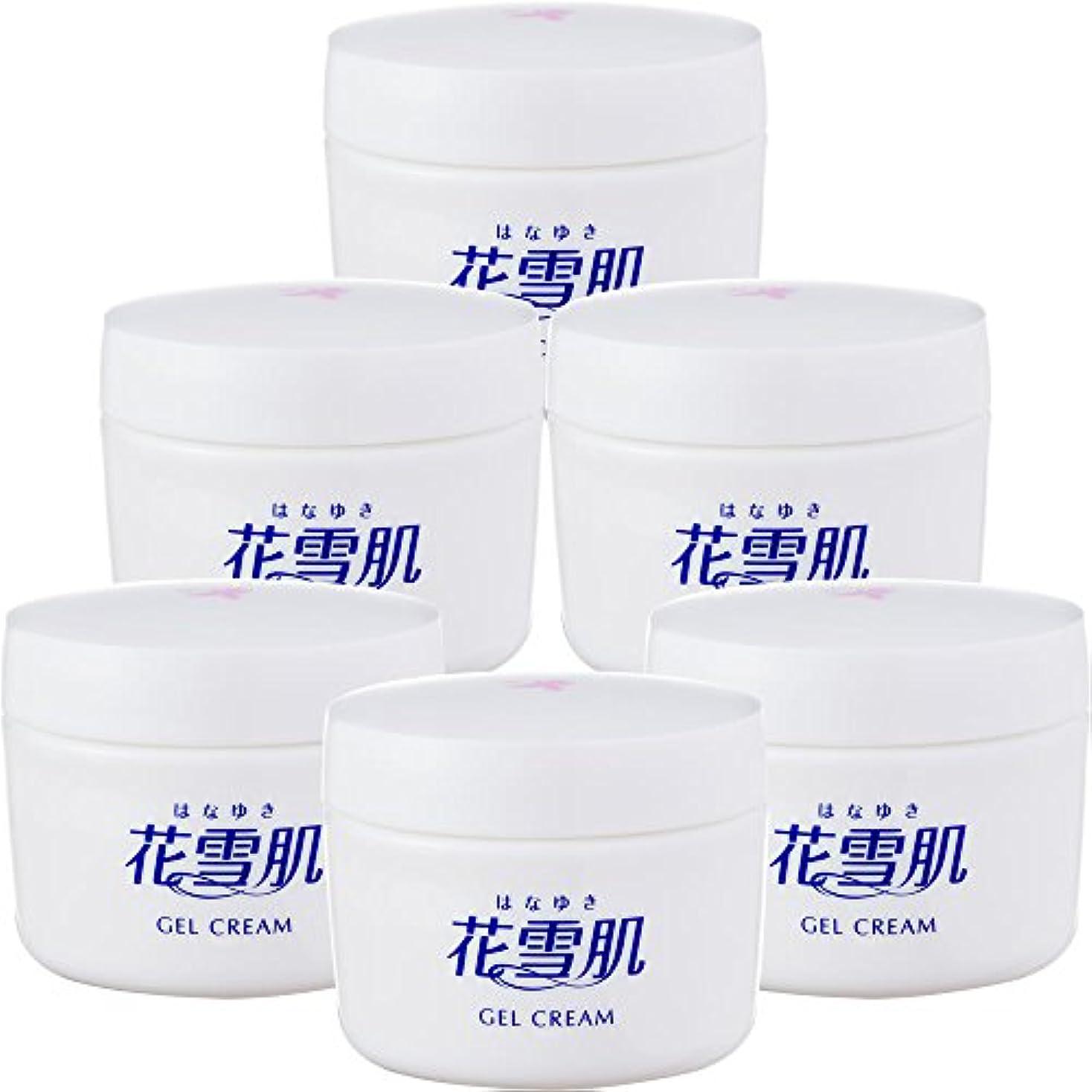 安心承認するリーチ花雪肌 ジェルクリーム (医薬部外品) [通販専用90g×6個セット] オールインワン コラーゲン ヒアルロン酸