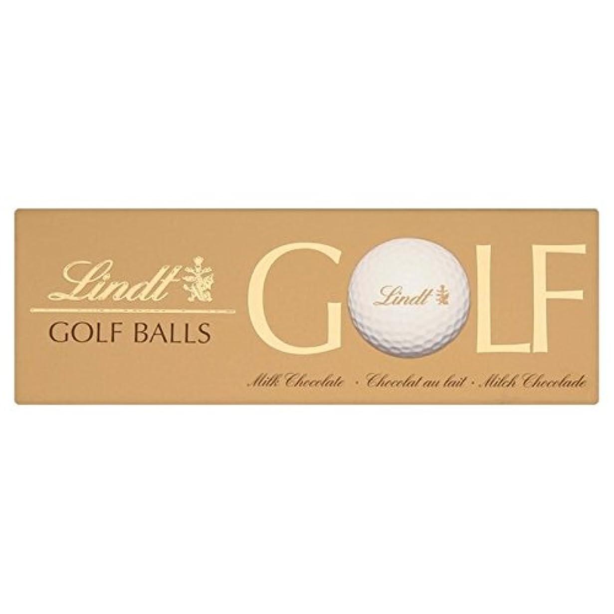 教義奨学金トリプルリンツゴルフボールミルクチョコレート110グラム (x 2) - Lindt Golf Balls Milk Chocolate 110g (Pack of 2) [並行輸入品]