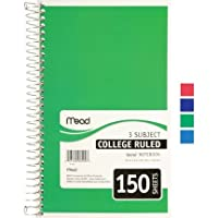 Mead Paper Mead 3 Subject Notebook [並行輸入品]