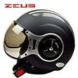 ZEUS バイクヘルメット ハーフヘルメット ジェットヘルメット 通気 パイロット 「PSCマーク付き」 (商品6, XXL)