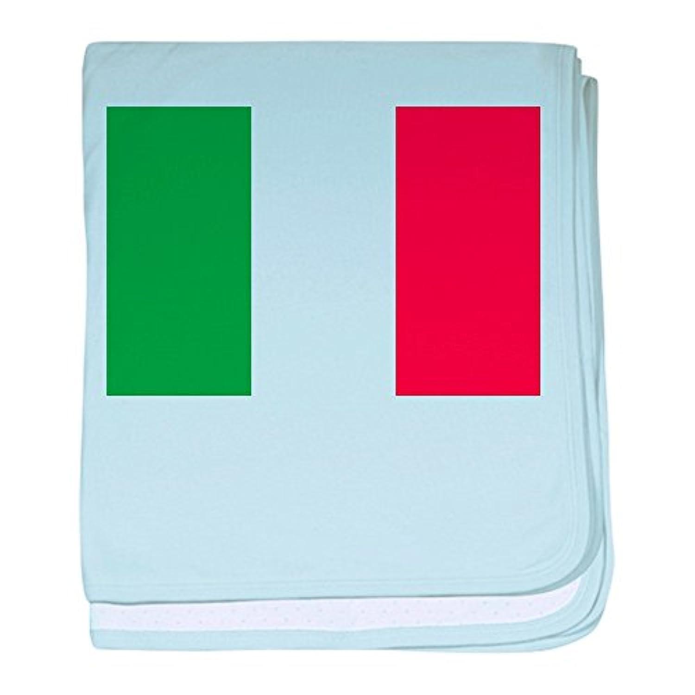 CafePress – イタリア国立フラグ – スーパーソフトベビー毛布、新生児おくるみ ブルー 054726759025CD2