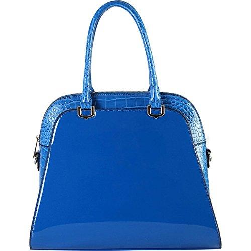 (ディオフィ) Diophy バッグ トートバッグ 0 Women's Yellow Faux Leather Patent Tote Handbag 並行輸入品