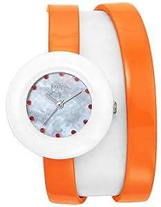 [フォリフォリ]FOLLI FOLLIE 腕時計 HEART4HEARTTWINWATCH ホワイトパール文字盤 WF13F030SSO-OR レディース 【並行輸入品】