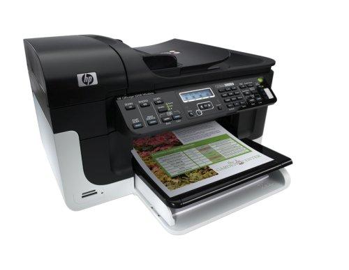 HP Officejet 無線有線LAN・ADF対応 黒顔料・4色独立インク A4インクジェットFAX付き複合機 6500 Wireless