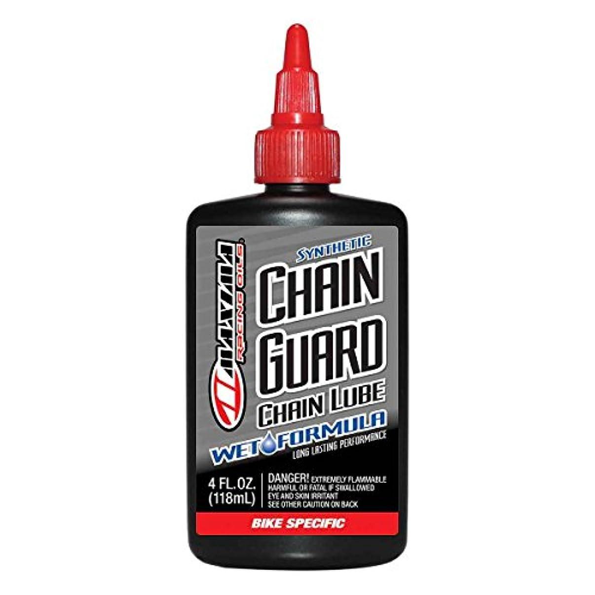 志す絶縁するくるくるMaxima Bike Synthetic Chain Guard Wet Formula Drip Lube, 4 oz by Maxima