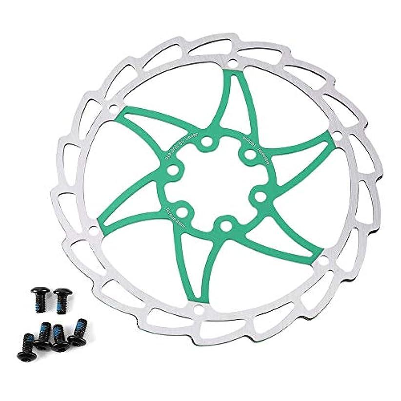 郡受け入れる系譜自転車用ディスク ディスクブレーキローター 6本のネジ付き スチール シリンダーローター