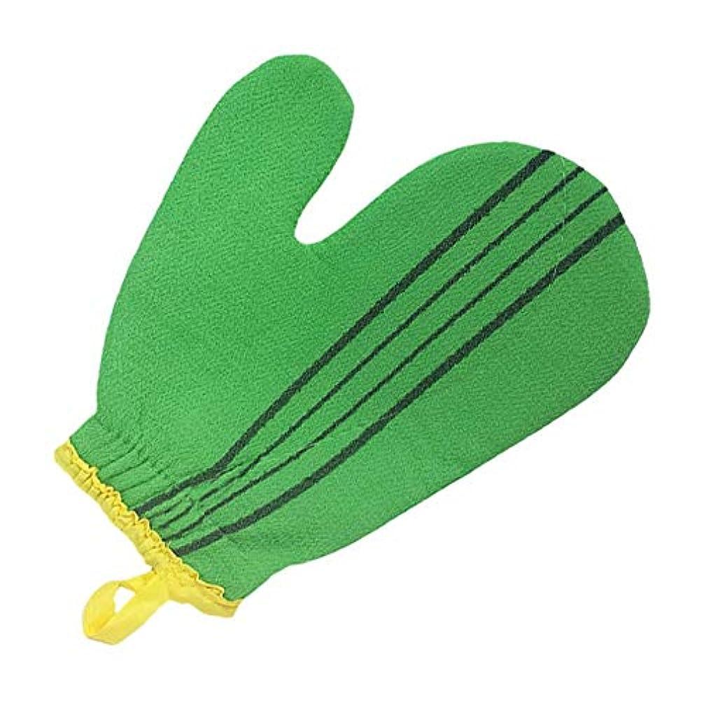 要旨多年生狂う(韓国ブランド) 特大サイズ スポンジあかすり 手袋型 全身エステ 両面つばあかすり お風呂グッズ ボディタオル ボディースポンジ