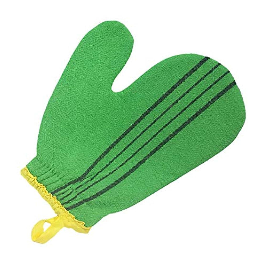 生態学精通した哀れな(韓国ブランド) 特大サイズ スポンジあかすり 手袋型 全身エステ 両面つばあかすり お風呂グッズ ボディタオル ボディースポンジ
