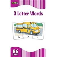 3 Letter Words (FlashKids Flash Cards)