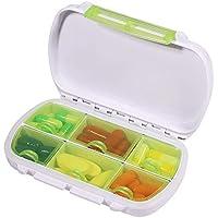 Opret 薬ケース ピルケース 小物入れ 携帯用 習慣薬箱 サプリメントケース コンパクト 防水 小型