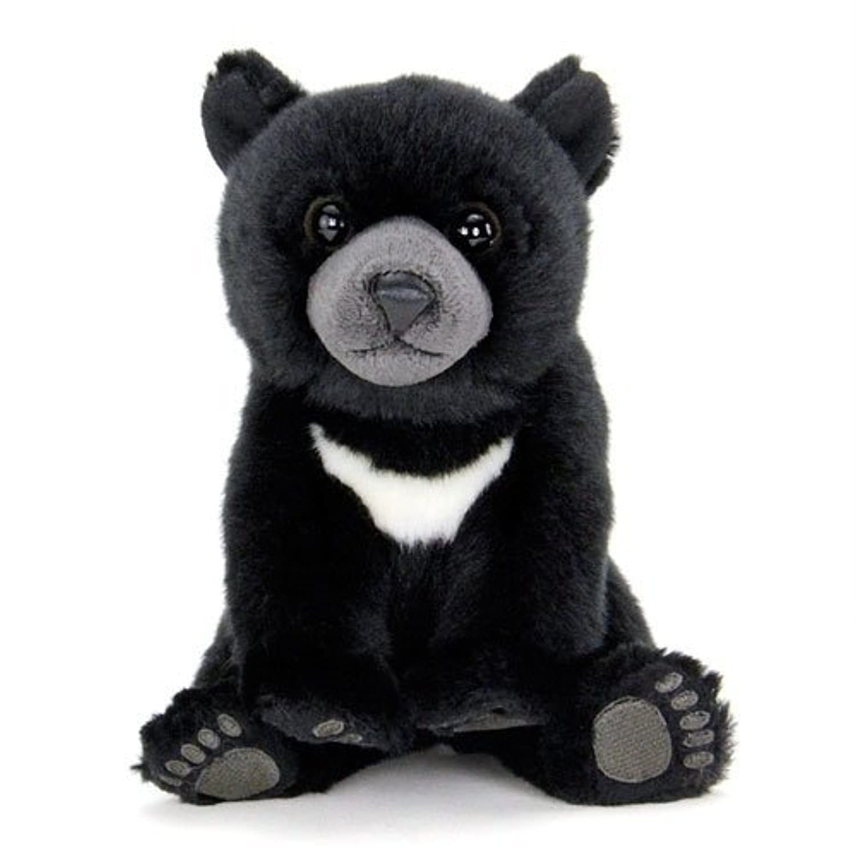 カロラータ ツキノワグマ 赤ちゃん ぬいぐるみ (検針2度済み) 動物 リアルアニマルベイビー [やさしい手触り] お人形 15cm×18cm×18cm