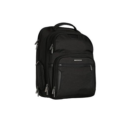 [ブリッグス アンド ライリー] Briggs & Riley レディース @ Work Large Clamshell Backpack バックパック Black [並行輸入品]