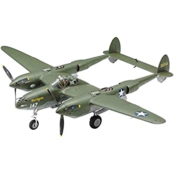 タミヤ 1/48 傑作機シリーズ No.120 ロッキード P-38F/G ライトニング プラモデル 61120