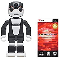 シャープ モバイル型ロボット電話 ロボホン&OCN モバイル ONE 音声通話+LTEデータ通信SIMカード 月額1,728円(税込)~(マイクロ、ナノ、標準)