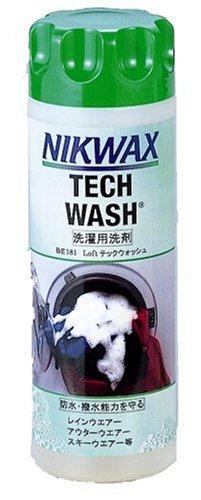 NIKWAX(ニクワックス) LOFTテックウォッシュ BE181 【洗剤】