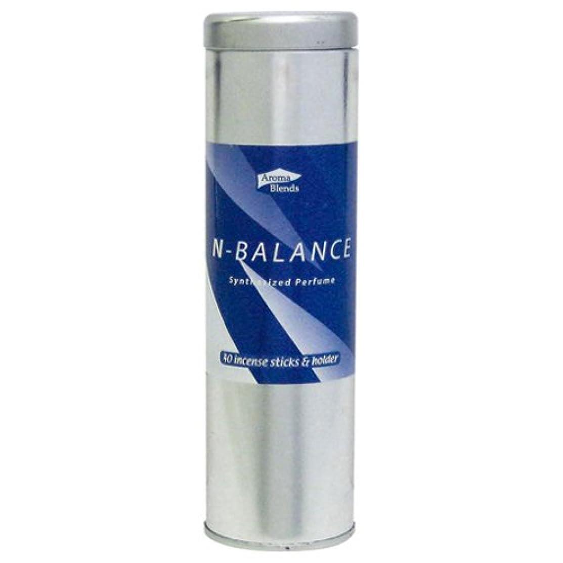 厳しいアラスカチャンバーAB-CIS-4 シンセサイズドパフューム アロマブレンド 缶インセンススティックセット 6個セット Nバランス