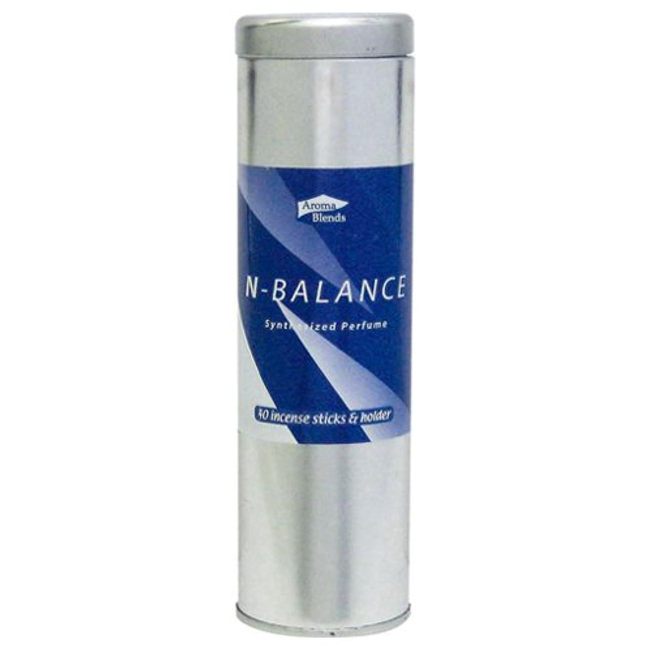 先駆者腐食する水AB-CIS-4 シンセサイズドパフューム アロマブレンド 缶インセンススティックセット 6個セット Nバランス