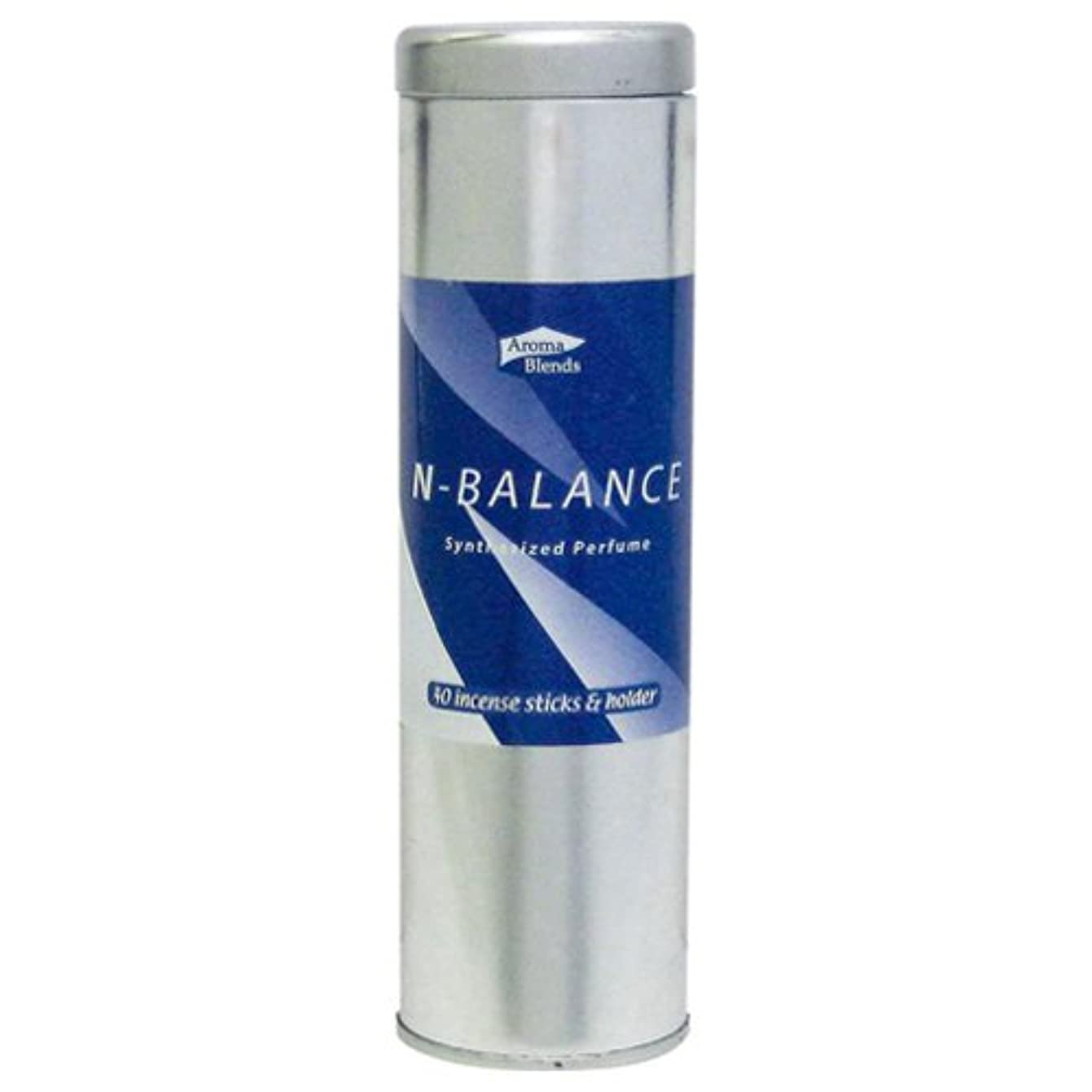 まばたき仕事に行く祈りAB-CIS-4 シンセサイズドパフューム アロマブレンド 缶インセンススティックセット 6個セット Nバランス