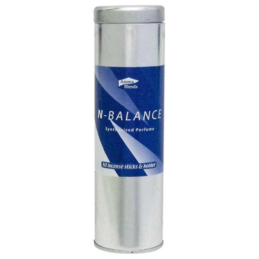 ルート不規則な緊張AB-CIS-4 シンセサイズドパフューム アロマブレンド 缶インセンススティックセット 6個セット Nバランス