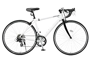 LAND GEAR(ランドギア) 700Cアルミ製シマノ14段変速ロードバイク ホワイト LG-RD7014