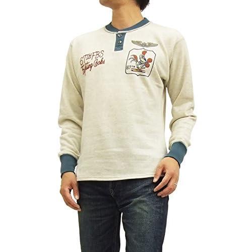 (トイズマッコイ) TOYS McCOY スウェットシャツ TMC1564 ヘンリーネック #041ベージュ (42(メンズXLサイズ))
