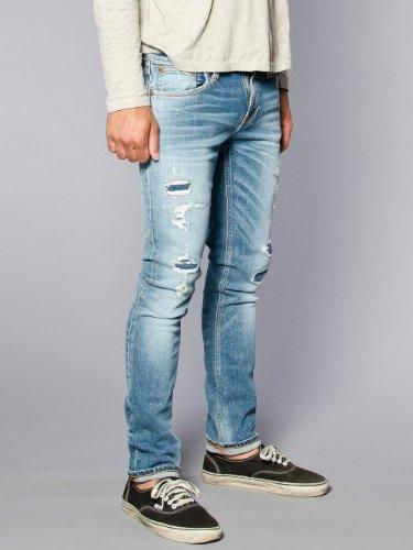 (ヌーディージーンズ)Nudie Jeans TIGHT LONG JOHN ORG SPRING WORNタイトロングジョン