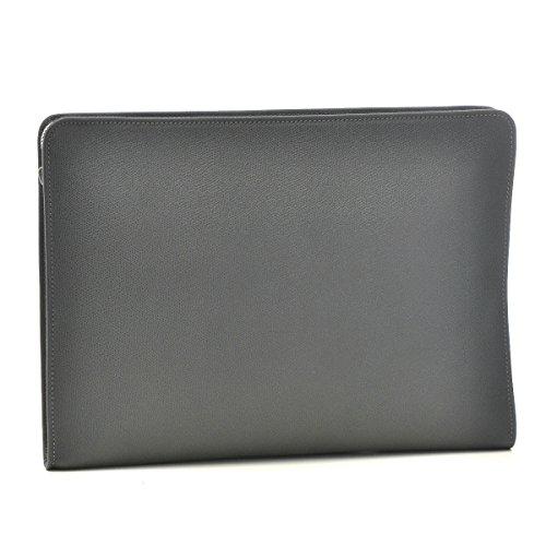 Valextra(ヴァレクストラ) バッグ メンズ グレインレザー クラッチバッグ グレー V4D65-028-00FLRD[並行輸入品]